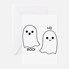 boo! hi! ghosts Greeting Cards (Pk of 20)