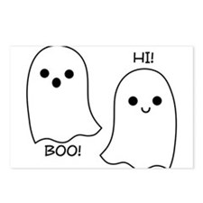 boo! hi! ghosts Postcards (Package of 8)