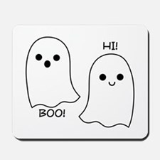 boo! hi! ghosts Mousepad
