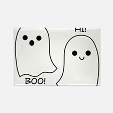 boo! hi! ghosts Rectangle Magnet