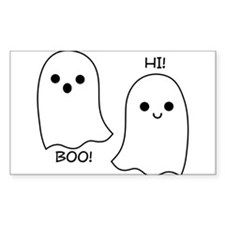 boo! hi! ghosts Decal