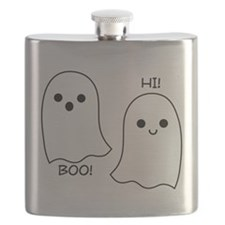 boo! hi! ghosts Flask