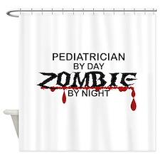 Pediatrician Zombie Shower Curtain