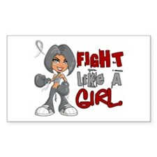 Fight Like a Girl 42.8 Juv Diabetes Decal