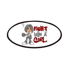 Fight Like a Girl 42.8 Juv Diabetes Patches