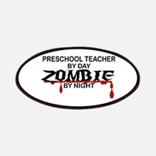 Preschool Teacher Zombie Patches