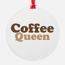 Coffee Queen Ornament