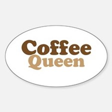 Coffee Queen Decal