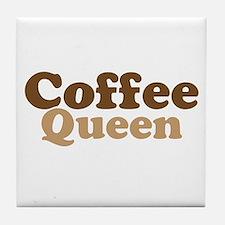 Coffee Queen Tile Coaster