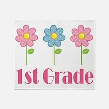 1st Grade (Daisy) Throw Blanket