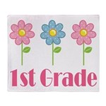 1st Grade (Daisy) Throw Blanket