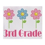 3rd Grade (Daisy) Throw Blanket