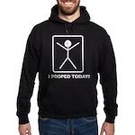 I pooped today! Hoodie (dark)