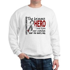 Bravest Hero I Knew J Diabetes Sweatshirt