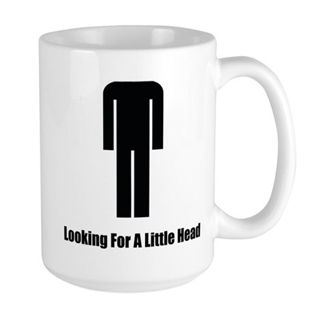 Looking For A Little Head Large Mug
