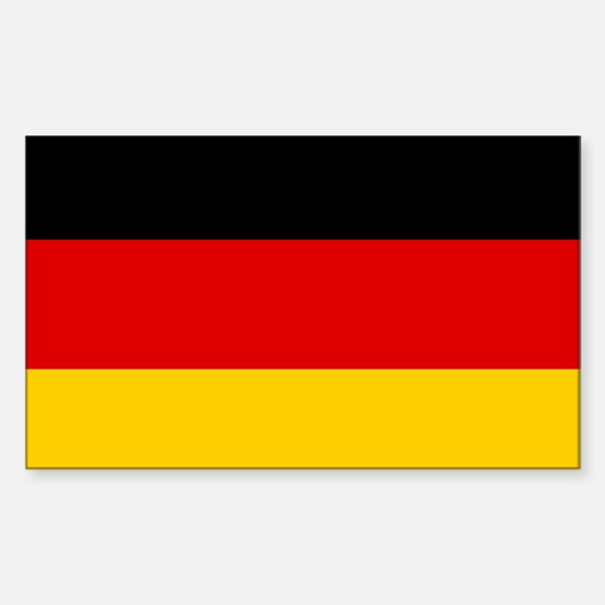 Flag of Germany Sticker (Rectangle)