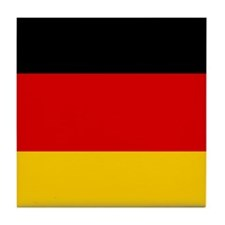 Flag of Germany Tile Coaster