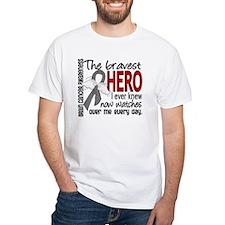Bravest Hero I Knew Brain Cancer Shirt