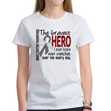 Bravest Hero I Knew Brain Cancer Tee