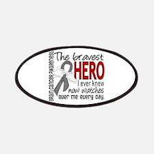 Bravest Hero I Knew Brain Cancer Patches