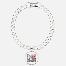 Bravest Hero I Knew Brain Tumor Bracelet