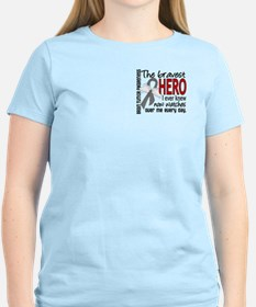 Bravest Hero I Knew Brain Tumor T-Shirt