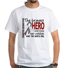 Bravest Hero I Knew Diabetes Shirt