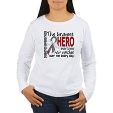 Bravest Hero I Knew Diabetes T-Shirt