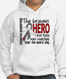 Bravest Hero I Knew Diabetes Hoodie