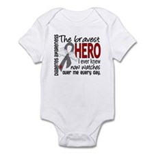 Bravest Hero I Knew Diabetes Infant Bodysuit