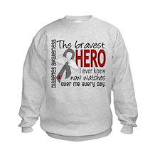 Bravest Hero I Knew Diabetes Sweatshirt