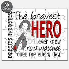 Bravest Hero I Knew Diabetes Puzzle