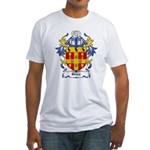 Giles Coat of Arms Fitted T-Shirt