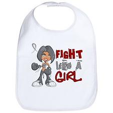 Fight Like a Girl 42.8 Diabetes Bib
