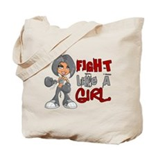 Fight Like a Girl 42.8 Diabetes Tote Bag