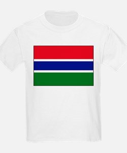 Gambia - National Flag - Current T-Shirt