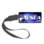 NAVSEA logo Small Luggage Tag