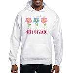 4th Grade (Daisies) Hooded Sweatshirt