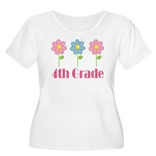 4th Grade (Daisies) T-Shirt
