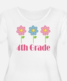 4th Grade (Daisies) T-Shirt