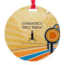 Gymnastics Teepossible.com Ornament