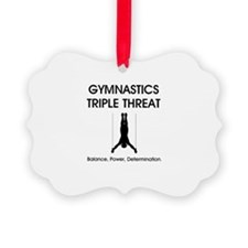 Gymnastics Teepossible.com Ornament