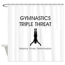Gymnastics Teepossible.com Shower Curtain