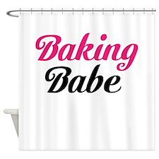 Baking Babe Shower Curtain