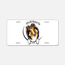 Collie IAAM Aluminum License Plate