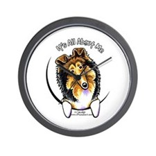 Collie IAAM Wall Clock