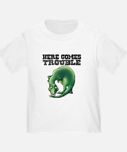 Here Comes Trouble Dinosaur T