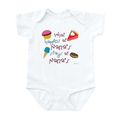 What happens at Nana's stays at Nana's Infant Cree