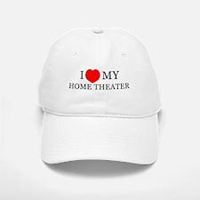 Home Theater Love Ball Baseball Baseball Cap
