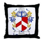 Garth Coat of Arms Throw Pillow